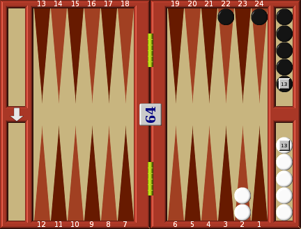 Match double | Play Backgammon online